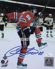 Patrick Kane JSA Certified SIGNED Chicago BlackHawks 8X10 PHOTOGRAPH