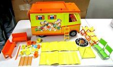 Vintage Mattel 1970 Cool Barbie Country Camper Rv Toy Vehicle & Accessories