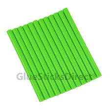 "GlueSticksDirect Neon Green  Glue Stick mini X 4"" 12 sticks"