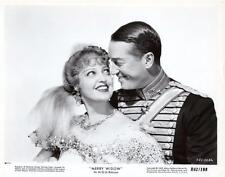 """Jeanette Mac Donald/Maurice Chevalier """"The Merry Widow"""" 1934 Vintage Still"""