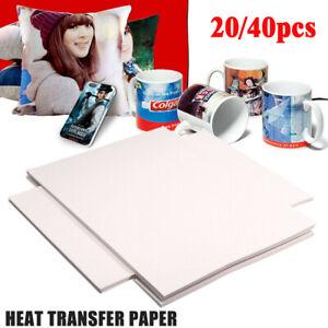 100pcs A4 Heat Transfer Paper Press Kit For Non-Cotton T-shirt Inkjet Print