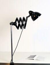 RAR Beha Scherenlampe Telegraphenlampe Bauhaus Lampe Gelenklamp- restauriert
