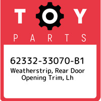 TOYOTA Genuine 62332-06120-B1 Door Opening Trim Weatherstrip