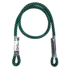 "30"" Prusik Cord Sewn Eye to Eye 8mm Polyester for Tree Climbing Rescue Caving"