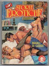 STORIE EROTICHE N.12 MAIALI DI LUSSO editrice squalo 1989