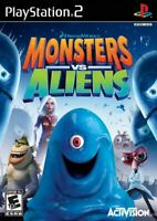 Monsters vs Aliens Activision PlayStation 3 PS3 Dreamworks Game