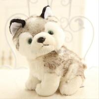 "18cm 7"" Plush Doll Soft Toy Animal Husky Dog Baby Kids Cute Stuffed Toys Gift"