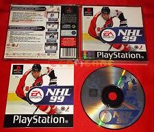 NHL 99 Ps1 Versione Ufficiale Italiana 1ª Edizione ○ COMPLETO - EV