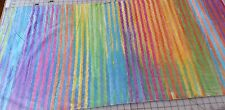 Anthology Batik 14294 - Rainbow Vertical Stripes with no specific repeat 1/2 yd