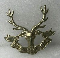 Highlanders (Seaforth, Gordons and Camerons) post 1994 cap badge white metal