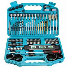 Makita 101 Piece Drill Bit Set Screwdriver Professional DIY Accessory Case kit