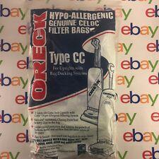 8 Oreck Type CC Vacuum Bags