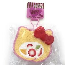Hello Kitty Soft Swiss roll cake Squishy SQUEEZE strap mascot phone Last!! (A)