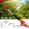 0.6/0.8/1M Telescopic Long Reach Tree Branch Pruner Pruning Shear Lopper Cutter