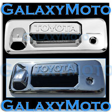 14-18 Toyota Tundra Double Cab Trim Overlay Chrome Tailgate Handle Cover 2018