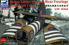 BRONCO 1/35 Horsa Glider Wings & Rear Fuselage PLASTIC MODEL KIT AB3574