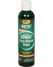Deva Liquid Ionic Trace Minerals- 8 oz - Vegan - Gluten Free, 72+ Trace Minerals