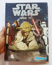 STAR WARS OFFICIAL ANNUAL 2011 PEDIGREE UK EXCLUSIVE HARDCOVER ALMANAC YEAR BOOK