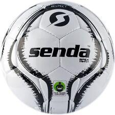 Senda Apex Match Soccer Ball, Fair Trade Certified, Black/White, Size 5