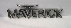 1960's Mustang Maverick Metal Car Emblem ~ Fomoco Emblem - KBC1 29300