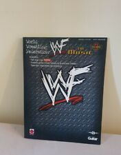 More details for wwf the music, vol.3 original arena entrance theme songs | guitar book | vintage