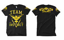 team Instinct FB premium-Tshirt, Go, Gamer,Team Valor,Team Mystic,Team Instinct