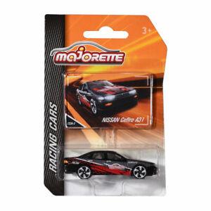 Majorette 212084009-Q26 Nissan Cefiro A31 Noir/Rouge - Course Cars 1:64 Neuf !°