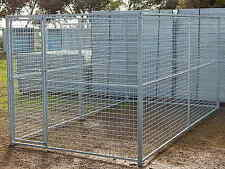 6 PANEL,DANGEROUS DOG, PUPPY,CAT,RUN, CAGE,ENCLOSURE,KENNEL, YARD