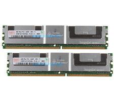 #98NEW 8GB 2X 4GB DDR2-667MHz PC2-5300F ECC Fully Buffered FB-DIMM Server Memory