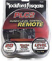 Rockford Fosgate Punch PLC2 Remote Cntrl w/input Clip Indicator