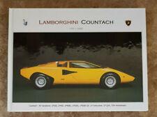 Lamborghini Countach Photo Gallery Book.  Printnr: 03/50.