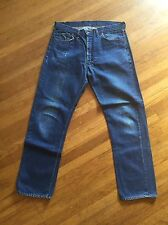 Vtg Rare Levis Big E Single Stitch 505 Non Redline 501s Jeans Usa Zipper 38 32