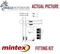 NEW MINTEX REAR BRAKE SHOES SET FITTING KIT PIN SPRINGS GENUINE QUALITY MBA829