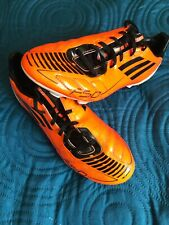 ADIDAS F50- F10 ASTRO TURF FOOTBALL BOOTS TRAINERS Neon SIZE 6 UK, VGC