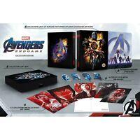 Avengers: Endgame 4K Ultra HD Zavvi Exclusive Collector's Edition Steelbook Set!