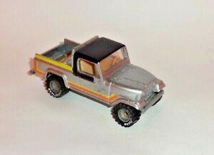 HOT WHEELS Loose REAL RIDERS Jeep Scrambler (Gray Hubs)