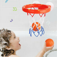 Baby&Kids Bath Toys Basketball Hoop&Ball Bathtub Water Play Set For Toddler