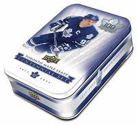 2017 Upper Deck Toronto Maple Leafs 100th Centennial Hockey Cards Tin (12 Packs)