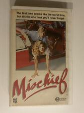 Mischief [VHS] CBS Fox Video 1985 Big Box Ex-Rental Tape Teen Comedy!