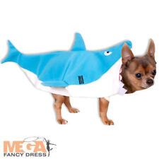 Shark Dog Fancy Dress Sea Animal Funny Hawaiian Halloween Puppy Pet Costume New