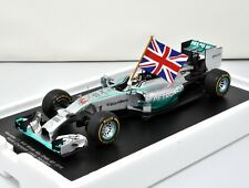 SPARK Mercedes W05 #44 1st Abu Dhabi 2014 World Champion L. Hamilton 18S159 1/18