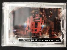 2017 Star Wars Masterwork Adventures R2-D2 Saving Padme in the droid factory
