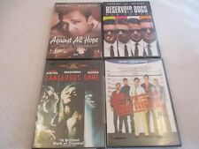 4 New Drama/Crime Dvds. Dangerous Games/Usual Suspects/Against All Hope/Res.Dogs