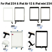 Touchscreen Glas Bildschirm Ersatz für iPad 2/3/4 & iPad Air1/2 & iPad mini2/3/4