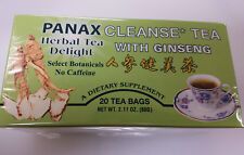 PANAX HERBAL TEA DELIGHT CLEANSE TEA WITH GENSING 20 TEA BAGS IN A PACK
