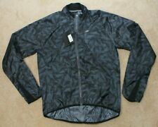 Sugoi RS Jacket Black Camo Mens XL NWT Cycling Pro Fit Packable Lightweight
