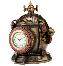 Nemesis Now Mechanics of Time 15.5cm-Steampunk Desk Clock New and Boxed