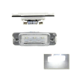 Set White Led License Number Plate Light Lamp For Mercedes-Benz W164 X164 W251