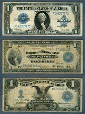 $1 Notes, Series 1899, 1918, 1923 – Laminated