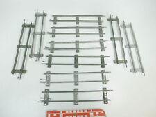 bk336-1 #10x MÄRKLIN escala 0 Vía / piezas de Vía Recto (26 cm) PARA